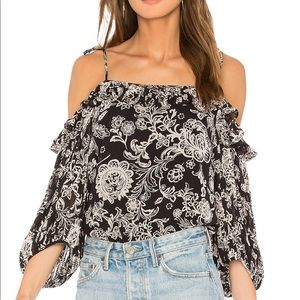 Ella Moss Off the Shoulder Blouse